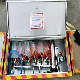 金诚压风供水自救装置厂家直销低价特卖六人用自救装置