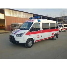 全顺老款短轴监护型救护车价格 图片