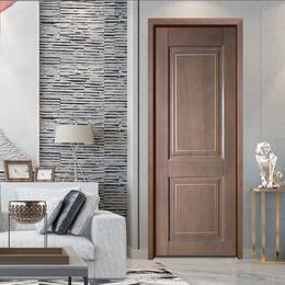 烤漆门原木套装门轻奢卧室 现代简约定制木门 家用