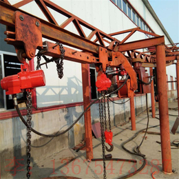 金诚DQD20气动单轨吊车厂家低价特卖液压电缆单轨吊车