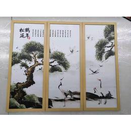 江西厂家供应卧室客厅山水动物艺术瓷板挂画缩略图