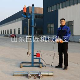轻便型电动打井机 SJD-2B小型手持式打井设备 水井钻机
