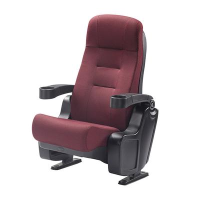弹簧+阻尼PU定型棉无写字板冷轧钢板剧院椅
