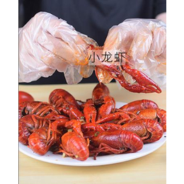 吃烧烤小龙虾一次性手套批发价钱