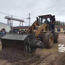 铲车配套洗沙搅拌斗好用洗沙子使用的搅拌机不用电的搅拌机