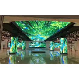 LED显示屏生产厂家-强彩光电公司-南京LED显示屏