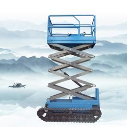 履带升降机 沙漠全自动行走升降车 液压升降作业平台设计