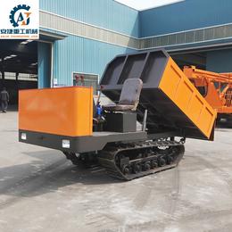 供应小型履带自卸车 单缸25马力履带运输车 水田履带运输车