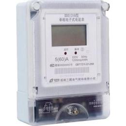 山东电子式单相表山东单相表山东厂家直供DDS1316型电表