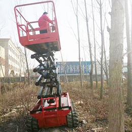 12米履帶升降機 高空作業平臺 登高車 履帶升降平臺價格