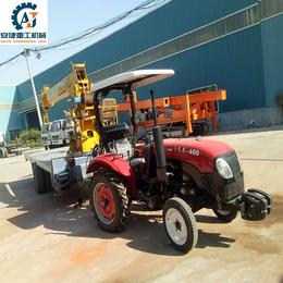 厂家生产拖拉机平板吊 改装拖拉机平板运输起重设备