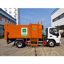 治理污染8立方垃圾分类车  含水垃圾处理车的中转方法