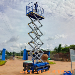 12米履带升降机 全自行登高车 高空作业平台 升降平台