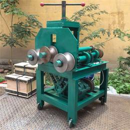 供应方管圆管卷圆圈弯管机 多功能铜管全自动折弯机