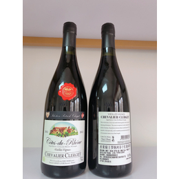 圣果骑士罗纳河谷干红葡萄酒