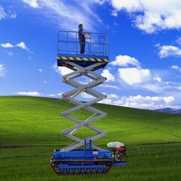 履带升降机 草原全自动行走升降平台 液压升降作业车 升降车