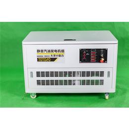 远程遥控20千瓦汽油发电机组