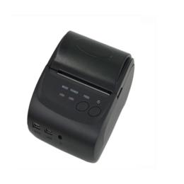 资江ZJ-5802DD58mm宽便携热敏蓝牙打印机安卓IOS