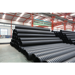 南通市政排污管圣大管业供应大口径钢带增强波纹管