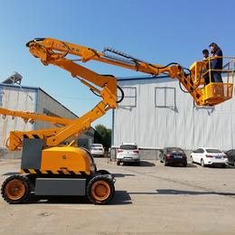 16自行曲臂式升降平台液压升降机高空作业平台车厂家