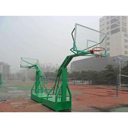 篮球架合作招标-强森健身器材投标-仿液压篮球架合作招标
