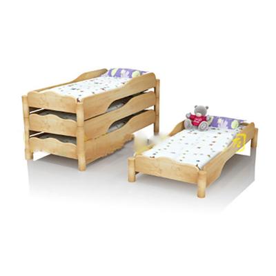 单人实木单层幼儿床