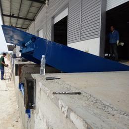 6吨登车桥 广西电动液压装卸过桥制造 电动调节版厂家