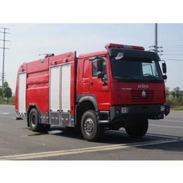重汽6吨JDF5170GXFSG60型水罐消防车亚博国际版价格