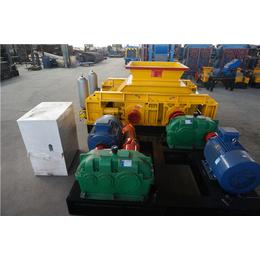 全液压对辊制砂机(图)-彩砂破碎机生产厂家-陕西彩砂破碎机