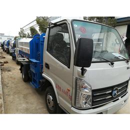 8噸含水污污泥運輸車-8方8立方挂桶式清運污泥車價格