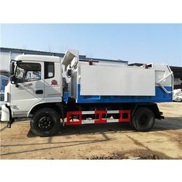 国六22立方密封污泥运输车-24立方生活垃圾运转车价格说明