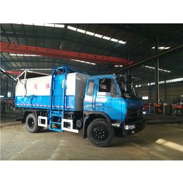一辆能装18立方18吨含水污泥清运输车单价配置