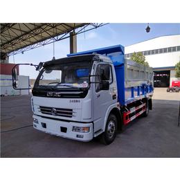 一辆拉8吨10吨含水污泥运输车价钱_配置介绍