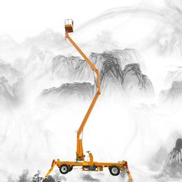 陜西省曲臂升降機 18米升降平臺 全自行高空作業車供應