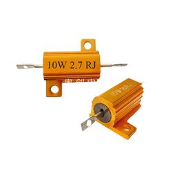 奥创电子 黄金铝壳电阻RX24-10W 西门子变频器制动电阻