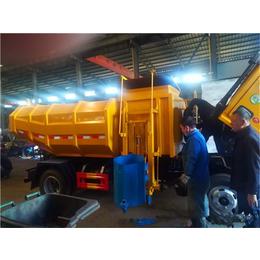 污泥车-5吨污泥运输车+6吨污泥运输车+7吨污泥运输车东风牌