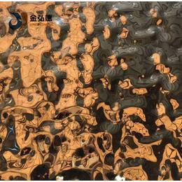 和硕不锈钢板吊顶天花3D立体效果水波纹不锈钢板