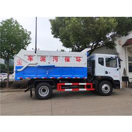 东风国六12方污泥清运车价格及配置说明