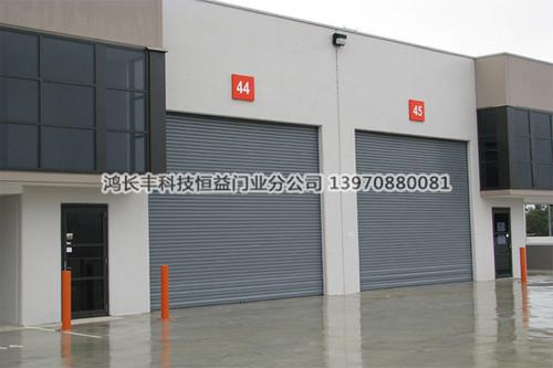 铝合金PVC 钢制工业卷帘门