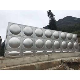 不锈钢保温水箱304方形保温水箱定制做 不锈钢消防水箱厂家 缩略图