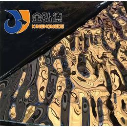 西山热轧不锈钢板不锈钢水波纹装饰板材定制