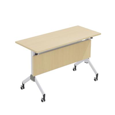 单人长条折叠课桌