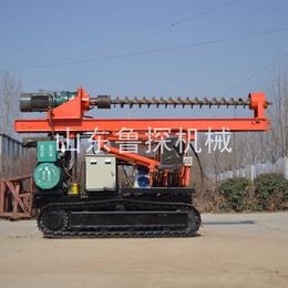 机电两用光伏电站打桩机 小型高速护栏打桩机 软基土处理