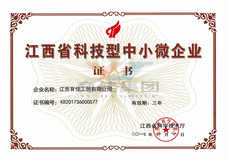 江西省科技型中小微企業