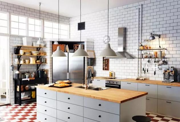 都说厨房墙面一定要贴瓷砖,留出一半不行吗?