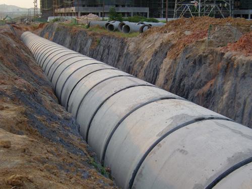 水泥管工程案例4