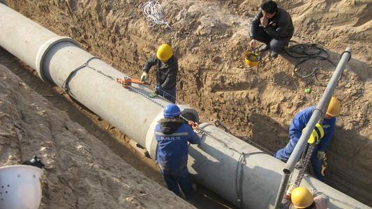 水泥管工程案例5
