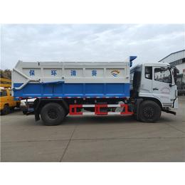 国六排放标准东风牌含水污泥运输车