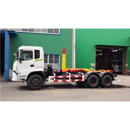 3吨4吨勾臂垃圾车报价_小型人工环卫垃圾车售价