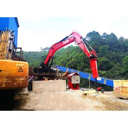 礦業多用途固定式節能電動液壓破碎機